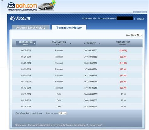 Pch Payment Online - my pch account myideasbedroom com
