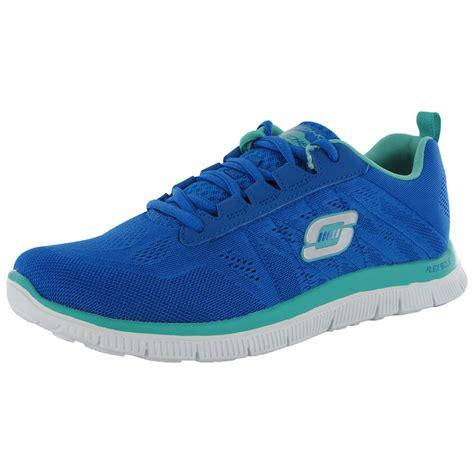 skechers athletic shoes skechers womens 11729 flex appeal sweet spot athletic shoe