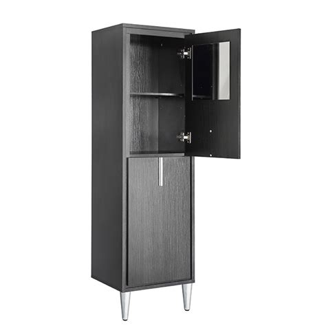 Bathroom Shelves Rona Linen Cabinet Carlington 2 Doors 3 Shelves Espresso