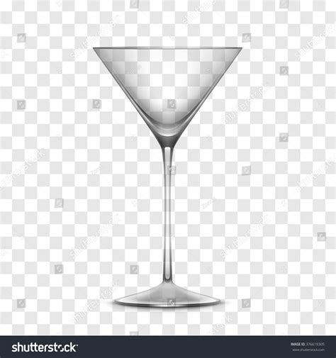 martini clipart no background empty glass isolated on transparent stock