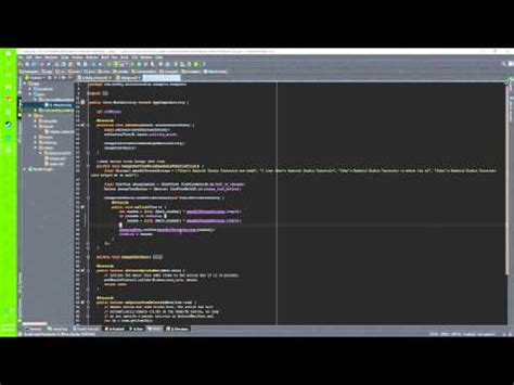 android studio tutorial button click android studio how to change textview text on button click
