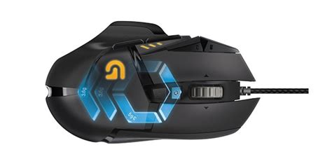 Promo Logitech Gaming Mouse G502 Proteus Spectrum Mouse Gaming G logitech g502 proteus spectrum gaming mouse announced