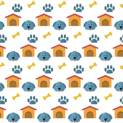 pattern for dog house dog house paw print vector pattern welovesolo