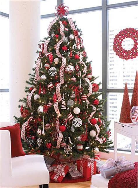 10 Tree Decoration Ideas by And White Decorations Www Pixshark