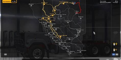 map usa truck simulator map usa truck simulator 28 images map road for