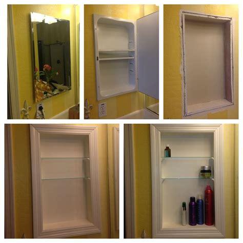 recessed kitchen cabinets the 25 best medicine cabinet redo ideas on pinterest medicine cabinet makeovers bathroom