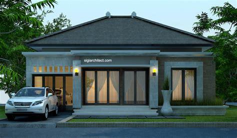 desain interior rumah bali desain rumah bali modern model rumah 4 tak