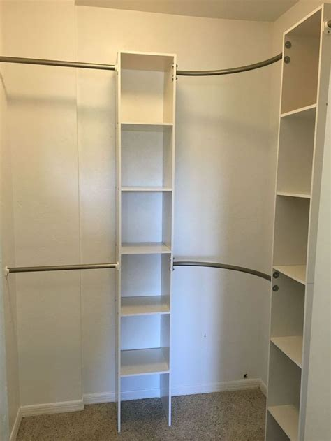 Corner Closet Systems by 1000 Ideas About Corner Closet On Closet