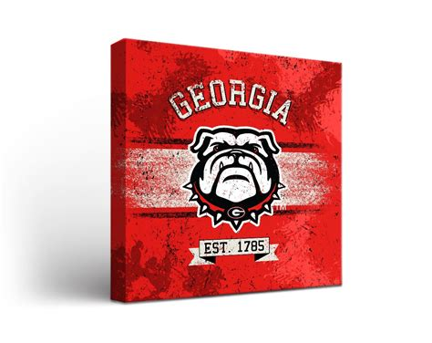 georgia bulldog home decor georgia bulldogs university of cornhole games