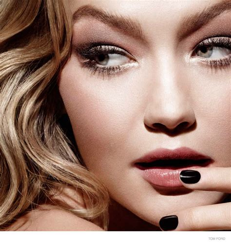 gigi hadid makeup gigi hadid is flawless in tom ford makeup caign