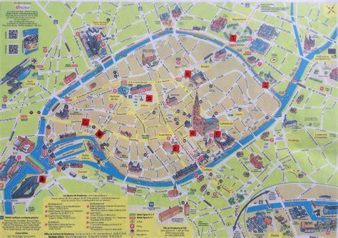 Strasbourg Plan by Carte De Strasbourg