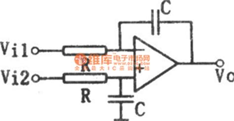 integrator circuit differential equation differential integrator circuit control circuit circuit diagram seekic