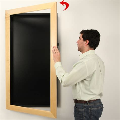 large shadow led lighted large shadow box display wide wood framed
