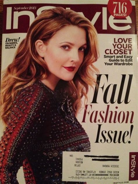 Drew Barrymore On March Cover Of by Fug Or Fab The Covers Drew Barrymore And Kate Bosworth On