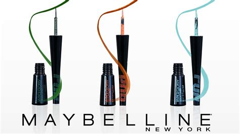 Maybelline Hyper Glossy Liquid Liner maybelline through thick and thin wardrobes