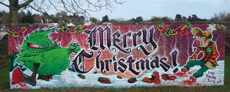 graffiti inspiration  christmas graffiti art gallery designs