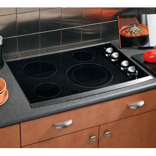 Ge Electric Cooktops Ge Electric Cooktop 30 In Jp356smss Sears