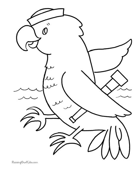 Bird Coloring Book Pages Free Bird Coloring Pages