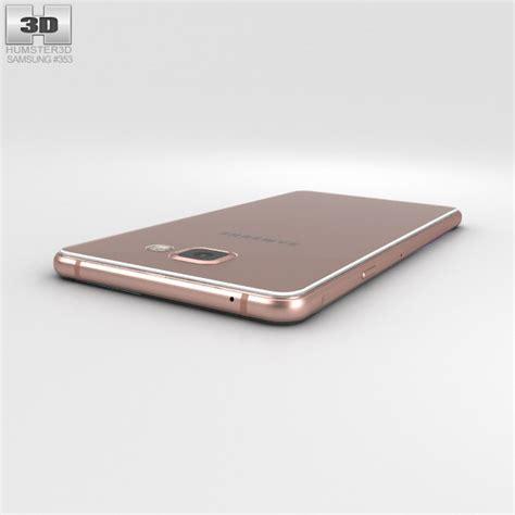 3d Samsung A7 2016 samsung galaxy a7 2016 gold 3d model hum3d