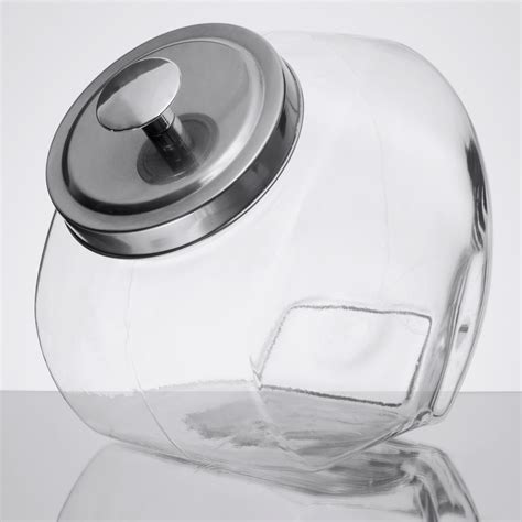 1 Gallon With Lid by 1 Gallon Glass Jar With Chrome Lid