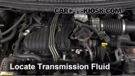 how to fix cars 2004 ford freestar transmission control transmission fluid level check ford freestar 2004 2007 2004 ford freestar sel 4 2l v6