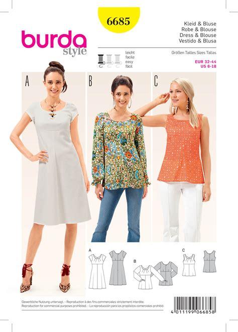 pattern sewing burda burda blouse pattern long sleeved blouse