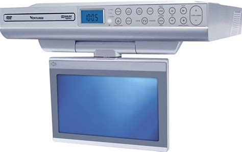 under cabinet kitchen tv dvd combo venturer 8 quot class 8 quot diag lcd 480i 60hz under
