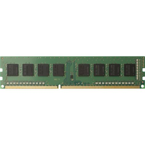 Memory 4gb Ddr4 hp 4gb ddr4 2133 mhz udimm memory module t0e50at b h photo