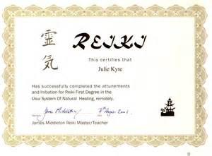 reiki certificate templates pin reiki certificate template on