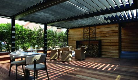 Re De Patio En Aluminium by Outdoor Living Pod Pergola Restaurant Brustor