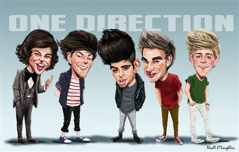 one direction hd wallpaper one direction caricature wallpaper hd wallpup com