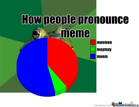 How Do U Pronounce Meme - how people pronounce the word meme by samfly02mim meme