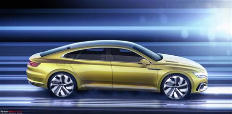 new volkswagen arteon all new volkswagen arteon sedan teased passat cc