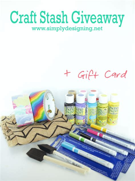 Craft Giveaways - craft stash giveaway