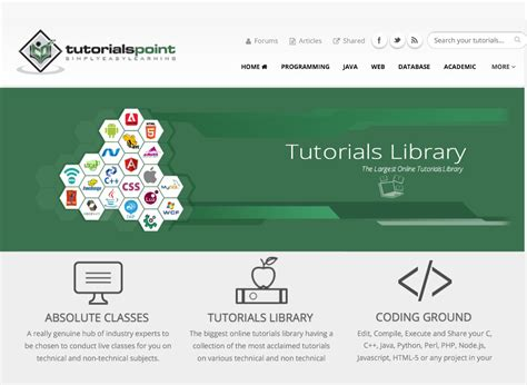 tutorialspoint online tutorialspoint 2 2 apk download android education apps