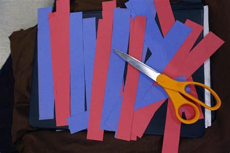 Crafts Using Paper Strips - paper necktie craft