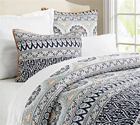 Quilts And Shams Pia Medallion Quilt Sham Pottery Barn
