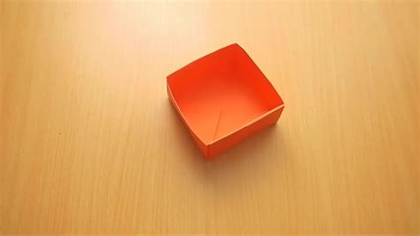 Fold A Box From Paper - how to fold a paper box 14 steps with pictures wikihow