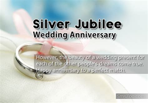 Silver Jubilee Wedding Anniversary Wishes Sms by Silver Jubilee Wedding Anniversary Wishes And Sms