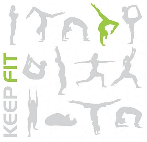 How To Get Fit And Free by Free Keep Fit Vectors Give Your Designs A Workout Vector