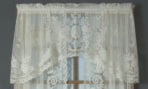 What Is Lace Curtain Irish Irish Point Lace Crescent Valance Thecurtainshop Com