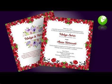 desain undangan pernikahan coreldraw x7 music desain undangan pernikahan corel draw 12 gratis