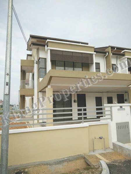 Mba Kindergarten Bandar Botanic by Bandar Putera 2 Storey House Corner Unit With 25 Ft Land