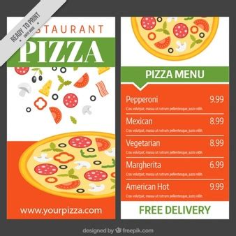 pizza menu template free arabic food menu with golden ornament vector free