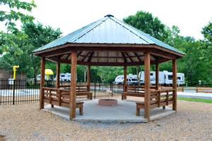 bench gazebo with pit pit for your home