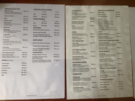 shangri la room service menu 広めの作業机が助かります picture of the boulevard a st giles hotel kuala lumpur tripadvisor