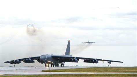 Bomber Us Army X b 52 stealth bomber taxi takeoffs machine
