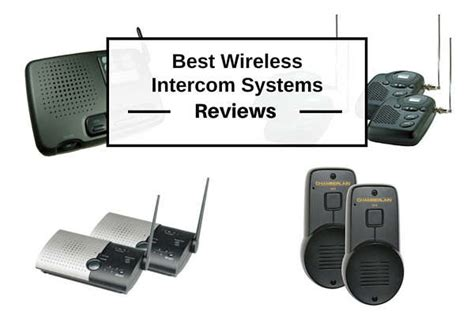 best intercom best wireless intercom systems for home office reviews 2018