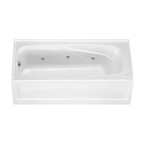 american standard whirlpool bathtubs american standard everclean 5 ft x 32 in right drain