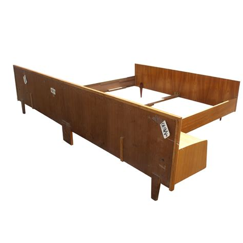 futon federkernmatratze bed frame stands teak bed frame with two drawer